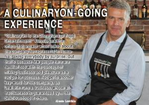 A CulinaryOn-going experience 1