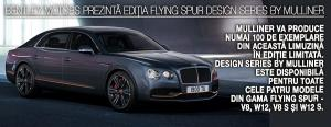 Bentley Motors prezintă noua ediție Flying Spur Design Series by Mulliner 1
