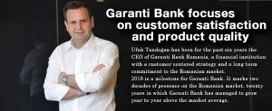 Garanti Bank focuses on customer satisfaction and product quality 1