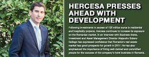 Hercesa presses ahead with development 1