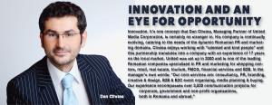 Innovation and an eye for opportunity 1