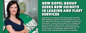 New Kopel Group seeks new heights in leasing  and fleet services 1