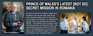 PRINCE OF WALES'S LATEST <NOT SO> SECRET MISSION IN ROMANIA 1