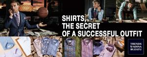 Shirts, the secret of  a successful outfit 1