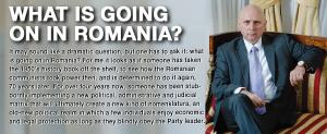 What is going on in Romania? 1