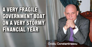 A very fragile government boat on a very stormy financial year 1