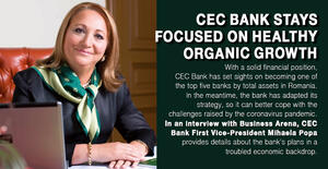 CEC Bank stays focused on healthy organic growth 1