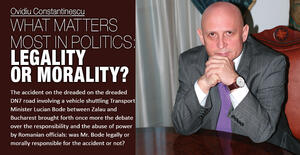 What matters most in politics: legality or morality? 1